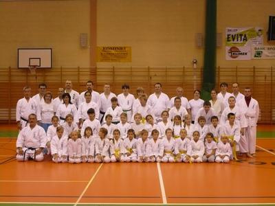 Каратэ Обучение в Кломнице (ПОЛЬША) - Октября 2008