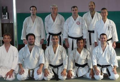интернатура по карате - Марсель в декабре 2008