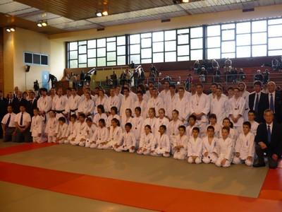 Les participants à la Coupe de France Uechi Ryu 2009