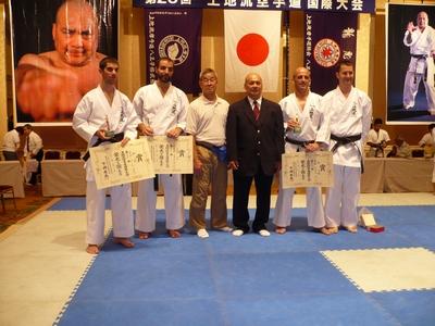 Tournoi international Shimoji - Tokyo aout 2009