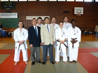 Podium Kata Uechi 2010