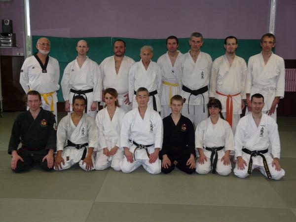 Karate staż Marseille - LUTY 2011