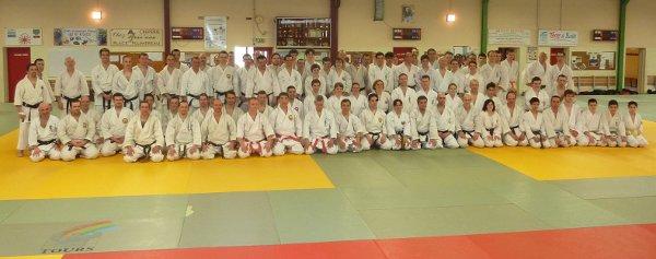 entrenamiento de karate en Tours