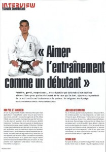 karaté magazine page 3