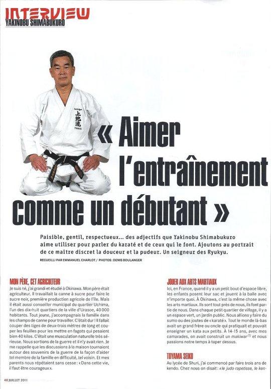 karate pagina tijdschrift 3