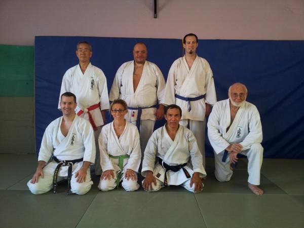 Maître Shimabukuro et le club Budo Provence