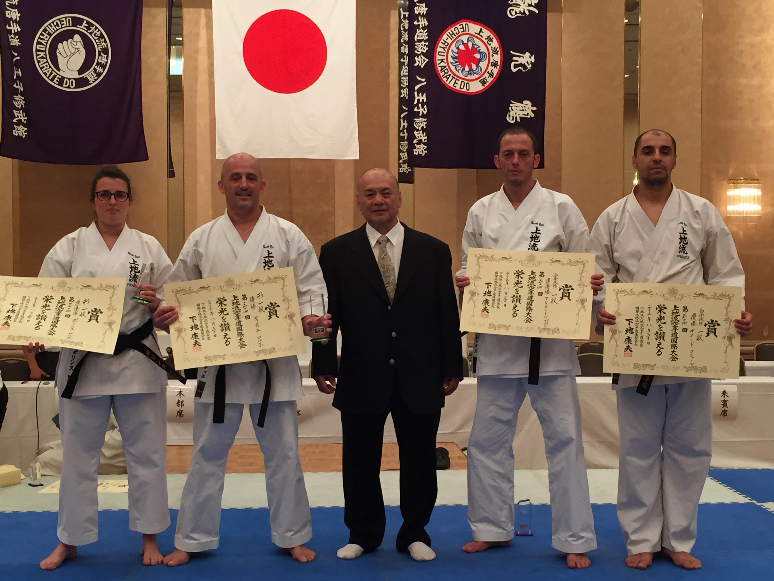 Médaillés Tokyo 2015