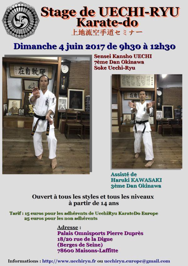 stage Kansho Uechi 2017