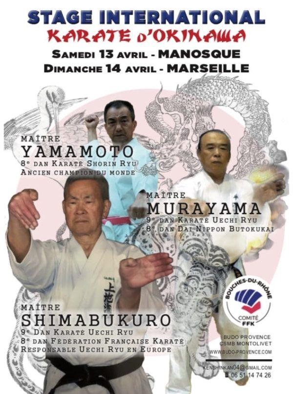 stage Karaté Marseille 2019